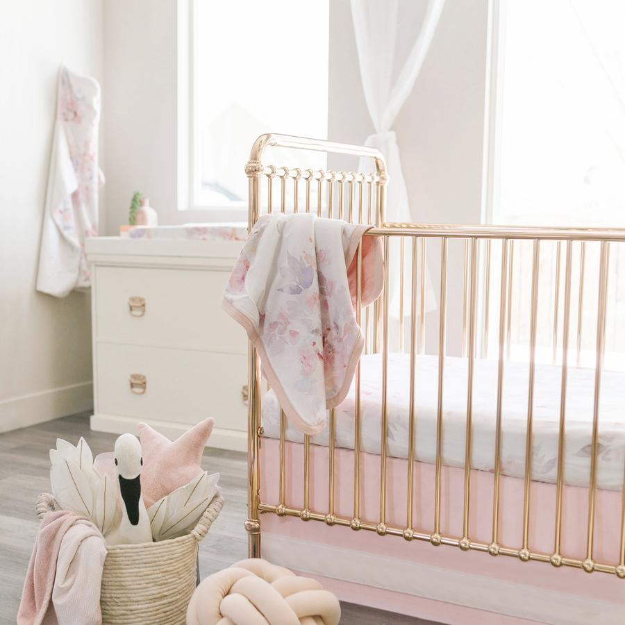 Ellie Rose Gold Crib Cribs Furniture Baby Bliss A